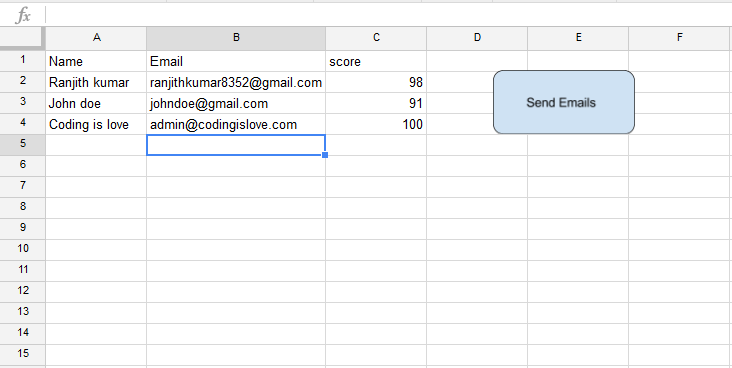 assign script to button in google sheets