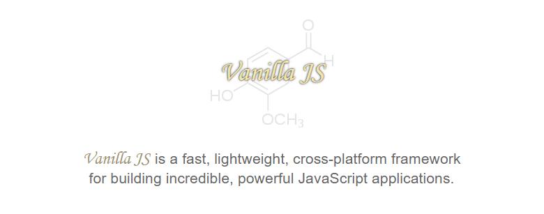 vanilla js library